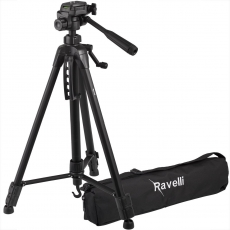 Ravelli APLT4 61-inch Light Weight Aluminum Tripod With Bag